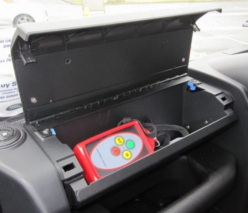 Defender PUMA Glove Box