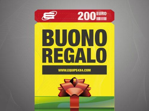 Gift Voucher € 200,00