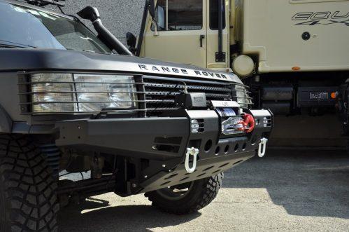 Paraurti Range Rover P38 Modulo Winch