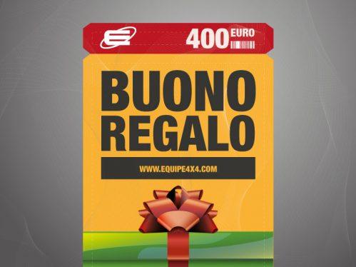 Gift Voucher € 400,00
