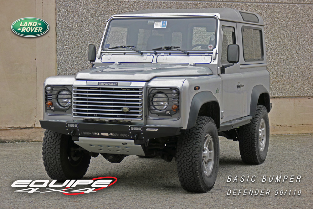 Toyota Santa Maria >> Paraurti Defender Basic - Equipe 4x4 Off Road Equipment