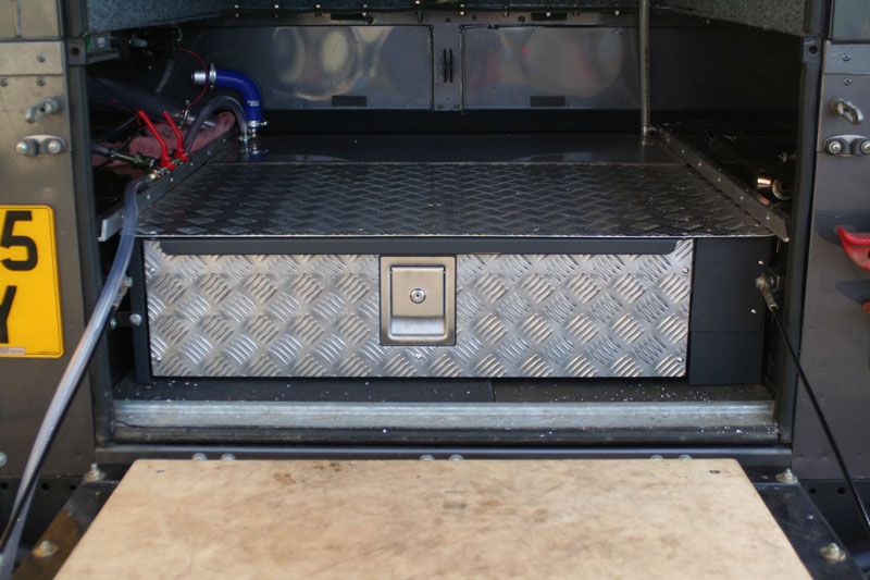 Toyota Santa Maria >> Cassetto Scorrevole STANDARD Defender - Equipe 4x4
