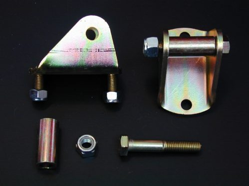 Shocks Front Bottom Rod End Eye Mounts - Pair
