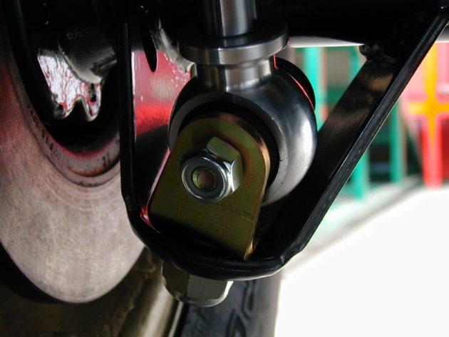 Shocks Rear Bottom Rod End Eye Mounts - Pair