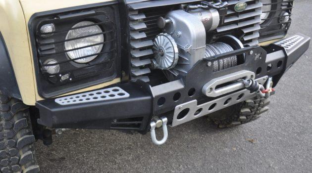 Black Cover Winch 8274 Defender Modular Bumper