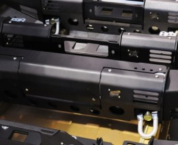 Paraurti Land Rover Defender Black Cover Box