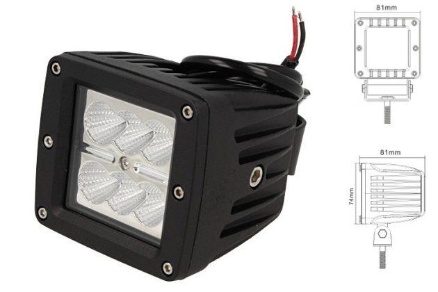 Square Daylight Worklight LED Lamp 6x4W 01