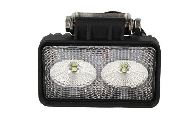 Rectangular Daylight Worklight LED Lamp 2x10W 02