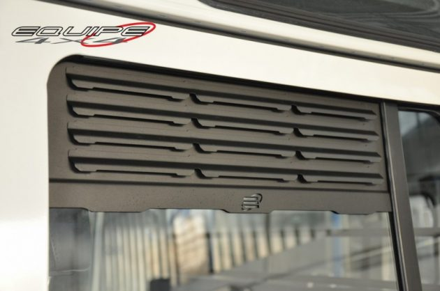 Rear Door Window Grill Defender 110