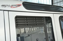 Rear Door Window Grill Defender 110