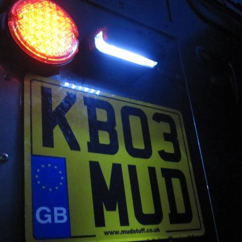 LED Light License Plate Defender