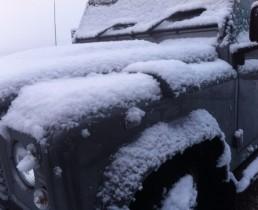 Snow Cover Areazione Defender