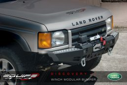 Paraurti Land Rover Discovery II Black Cover Winch