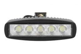 Fanale Luci Diurne LED 5x3W è un ottimo faro da Lavoro che può essere montato in aggiunta sul vostro fuoristrada.
