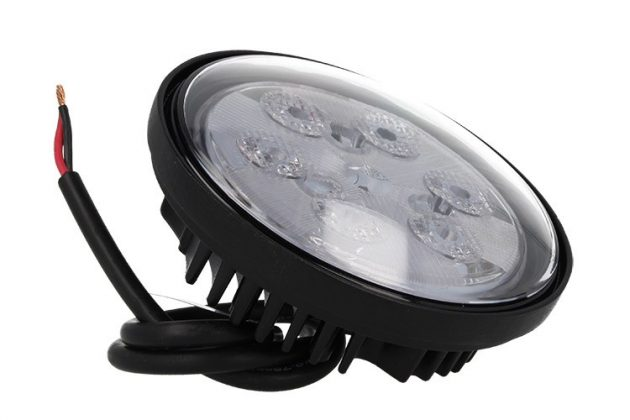 Round Daylight LED 6x3W