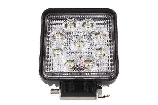 Faro Supplementare di Profondità Quadrato LED 9x3W