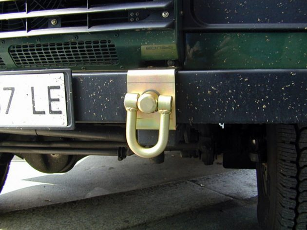 Swivel Hook with Mounting Plates for Bumper