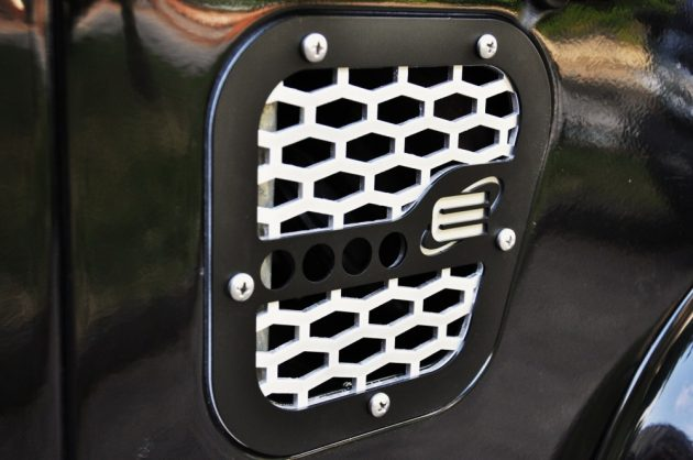 Side Suction Grill