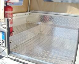 Protezione Mandorlato Cassone Defender 110 Crew Cab