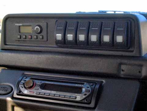 Dashboard Mini Pod Defender