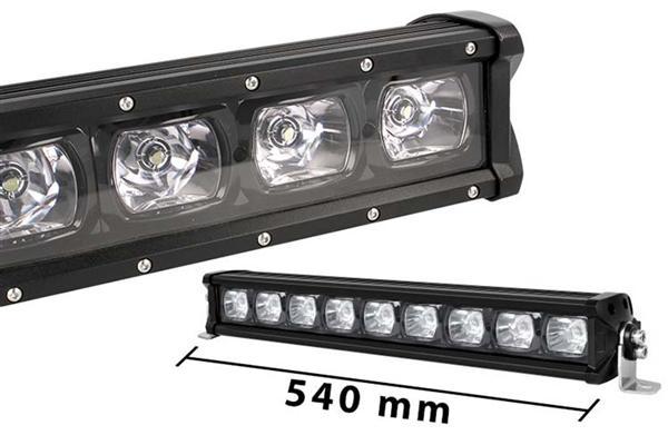 Barra LED singola fila 54cm Riflettore 9X7W
